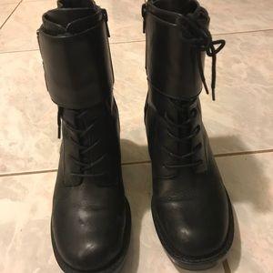ZARA Moto Boots